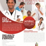 2012 Health Fair Flyer
